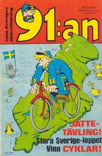 Cover Thumbnail for 91:an [delas] (Åhlén & Åkerlunds, 1956 series) #12/71