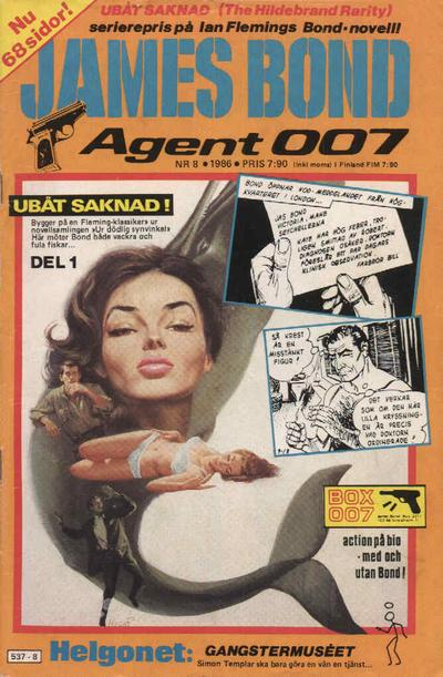 Cover for James Bond (1965 series) #8/1986