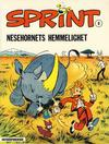 Cover for Sprint [Sprint & Co.] (Interpresse, 1977 series) #8 - Nesehornets hemmelighet