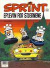 Cover for Sprint (Semic, 1986 series) #22 - Eplevin for stjernene [3. opplag]