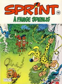 Cover Thumbnail for Sprint (Semic, 1986 series) #19 -  fange Spiralis