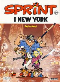 Cover Thumbnail for Sprint (Semic, 1986 series) #34 - Sprint i New York