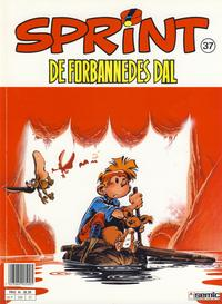 Cover Thumbnail for Sprint (Semic, 1986 series) #37 - De forbannedes dal