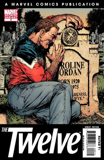 Cover for The Twelve (Marvel, 2008 series) #2 [2nd Printing Variant]