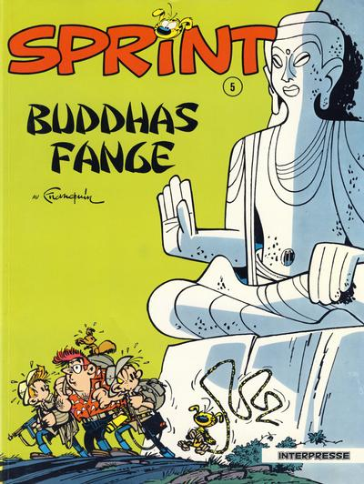 Cover for Sprint [Sprint & Co.] (Interpresse, 1977 series) #5 - Buddhas fange