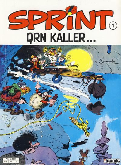 Cover for Sprint (Semic, 1986 series) #1 - QRN kaller ...