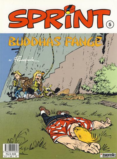 Cover for Sprint (Semic, 1986 series) #5 - Buddhas fange
