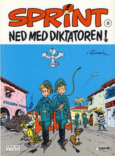 Cover for Sprint (1986 series) #9 - Ned med diktatoren!