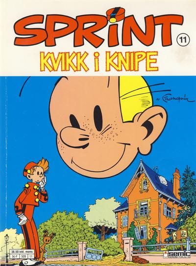 Cover for Sprint (Semic, 1986 series) #11 - Kvikk i knipe