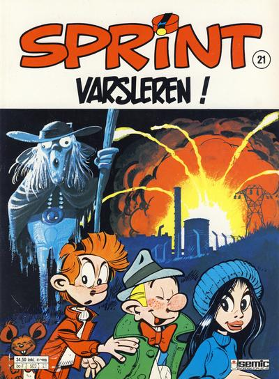 Cover for Sprint (1986 series) #21 - Varsleren!