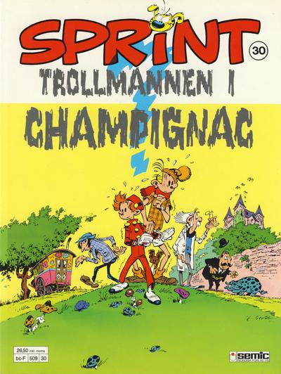 Cover for Sprint (Semic, 1986 series) #30 - Trollmannen i Champignac