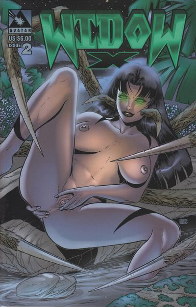 Cover for Widow X (Avatar Press, 1999 series) #2 [Regular edition]