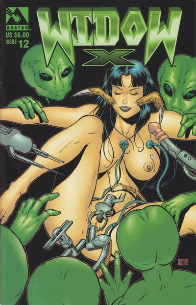 Cover for Widow X (Avatar Press, 1999 series) #12