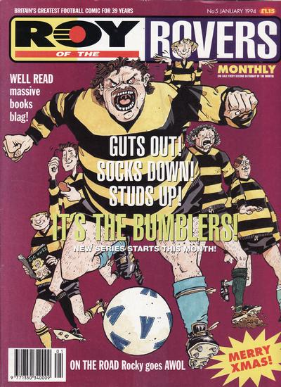 Cover for Roy of the Rovers Monthly (Fleetway Publications, 1993 series) #5