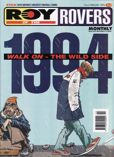 Cover for Roy of the Rovers Monthly (1993 series) #6