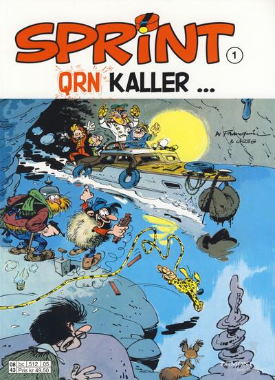 Cover for Sprint (1998 series) #1 - QRN kaller ...