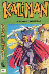 Cover Thumbnail for Kalimn (Editora Cinco, 1974 series) #2