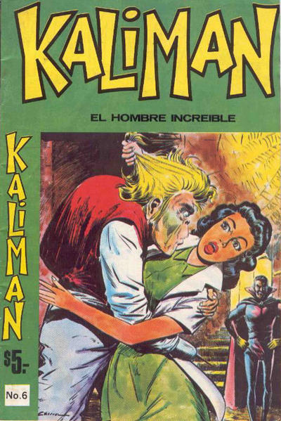 Cover for Kaliman (Editora Cinco, 1976 series) #6
