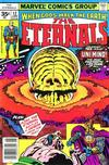 Cover Thumbnail for The Eternals (1976 series) #12 [35 cent cover price variant]