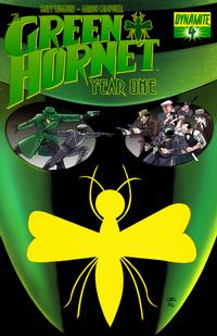 Cover Thumbnail for Green Hornet: Year One (Dynamite Entertainment, 2010 series) #4 [Cover A - John Cassaday]