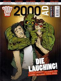 Cover Thumbnail for 2000 AD (Rebellion, 2001 series) #1675