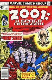 Cover Thumbnail for 2001: A Space Odyssey (Marvel, 1976 series) #7 [35 cent cover price variant]
