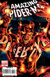 Cover Thumbnail for The Amazing Spider-Man (Marvel, 1999 series) #581 [Villain Variant]