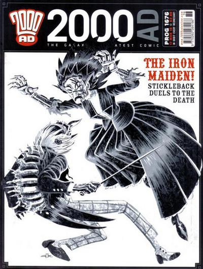 Cover for 2000 AD (Rebellion, 2001 series) #1676