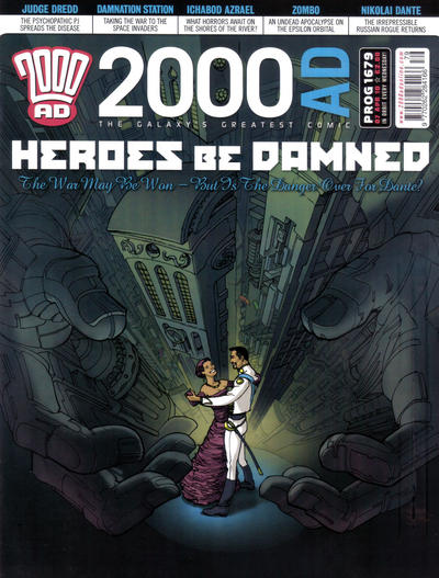 Cover for 2000 AD (Rebellion, 2001 series) #1679