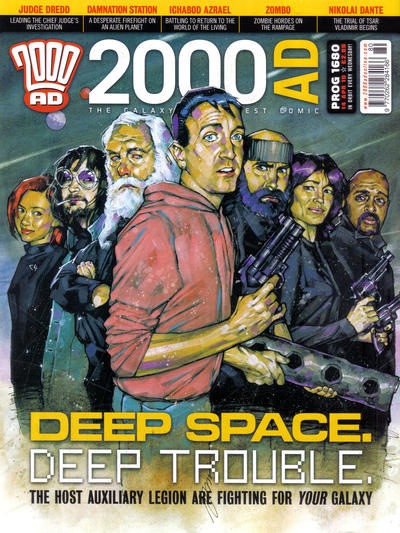 Cover for 2000 AD (Rebellion, 2001 series) #1680