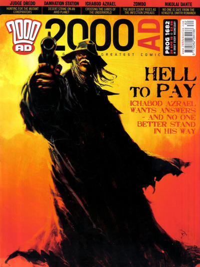 Cover for 2000 AD (Rebellion, 2001 series) #1682