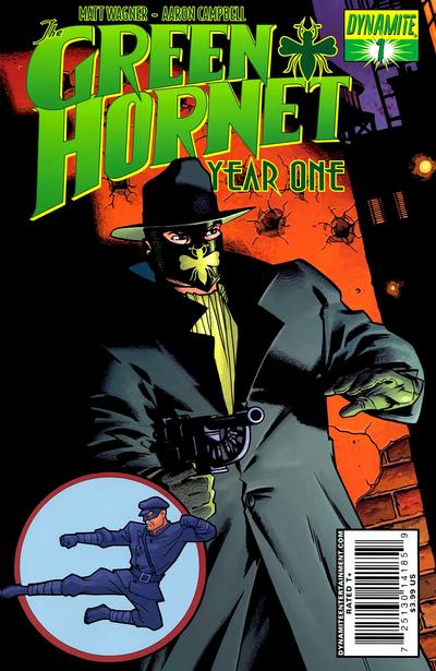 Cover for Green Hornet: Year One (2010 series) #1 [Cassaday RI]