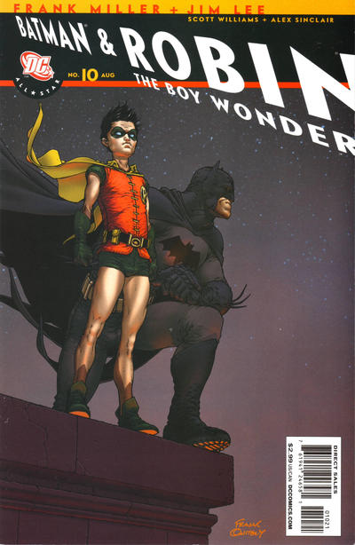 Cover for All Star Batman & Robin, the Boy Wonder (DC, 2005 series) #10 [Variant Cover]