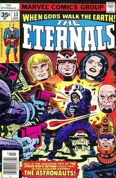 Cover for The Eternals (Marvel, 1976 series) #13 [British pence variant]