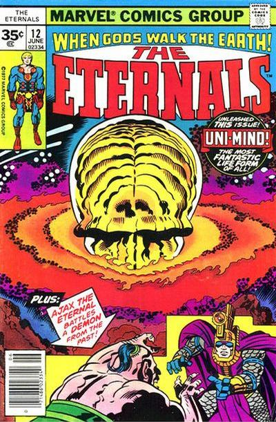 Cover for The Eternals (Marvel, 1976 series) #12 [30¢ Cover Price]