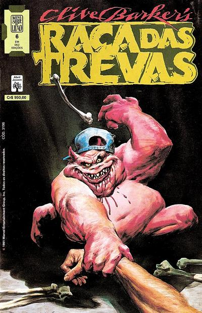 Cover for Raça das Trevas (1991 series) #6