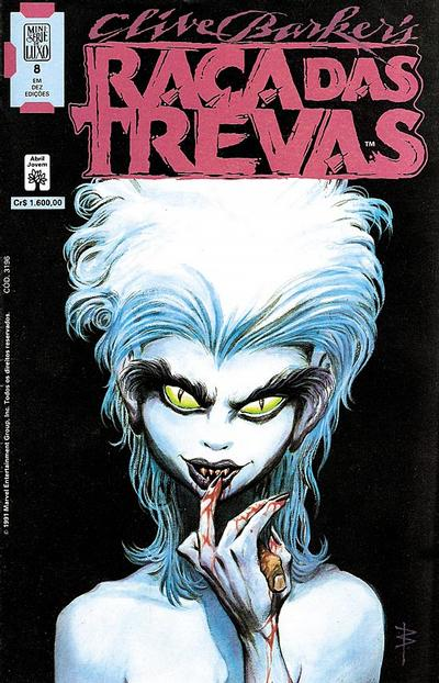 Cover for Raça das Trevas (Editora Abril, 1991 series) #8