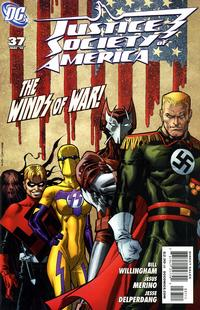 Cover Thumbnail for Justice Society of America (DC, 2007 series) #37