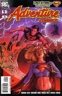 Cover for Adventure Comics (2009 series) #9 / 512 [Variant Cover (1 in 10)]