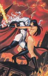 Cover Thumbnail for Vampirella / Lady Death: The Revenge Limited Ashcan (Harris Comics, 1999 series) #[nn]