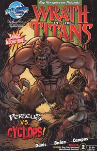 Cover for Wrath of the Titans (Bluewater Productions, 2007 series) #2 [Nadir Balen Sketch Cover]