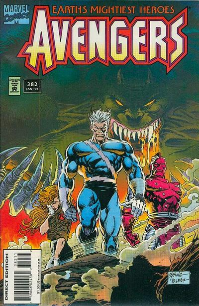 Cover for The Avengers (1963 series) #382