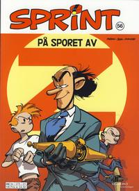 Cover Thumbnail for Sprint (Hjemmet / Egmont, 1998 series) #56 - På sporet av Z