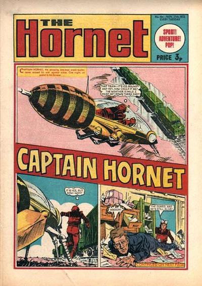 Cover for The Hornet (D.C. Thomson, 1963 series) #481