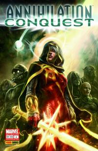 Cover for Annihilation Conquest (2008 series) #4