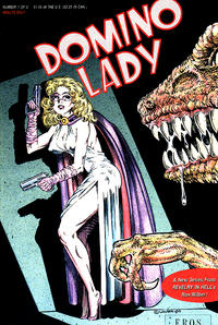Cover Thumbnail for Domino Lady (Fantagraphics, 1990 series) #1
