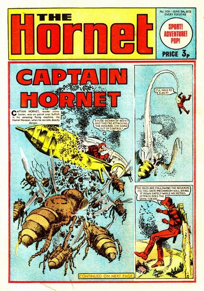Cover for The Hornet (D.C. Thomson, 1963 series) #509