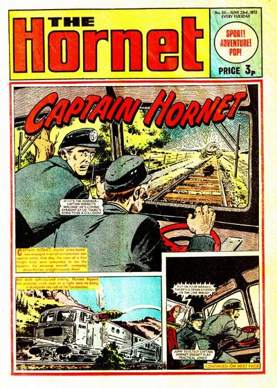 Cover for The Hornet (D.C. Thomson, 1963 series) #511