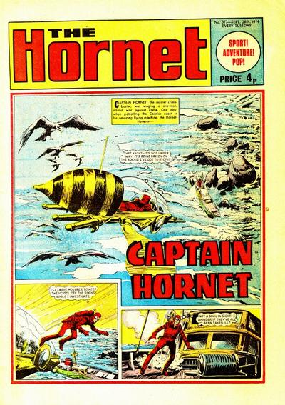 Cover for The Hornet (D.C. Thomson, 1963 series) #577