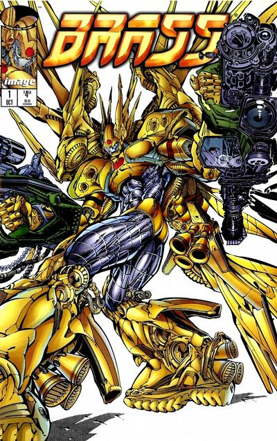 Cover for Brass Folio Edition (Image, 1996 series) #1